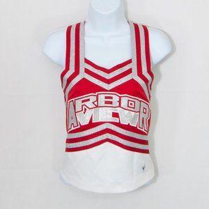 Varsity High School Cheerleader Uniform Top 3505X